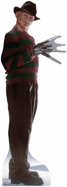 Freddy Krueger Freddy vs. Jason Cardboard Cutout