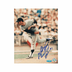 Gaylord Perry Autographed Photofile 8x10 Photograph