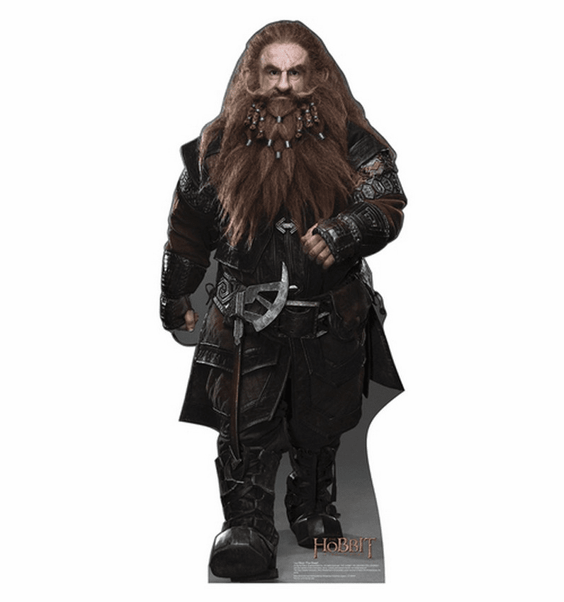Gloin The Dwarf The Hobbit Standee
