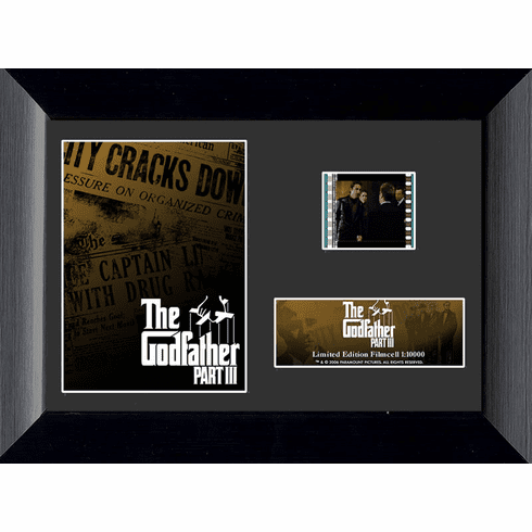Godfather Part III Mini Filmcell - The Limited Edition