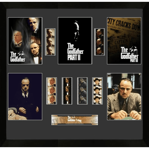 Godfather Trilogy Montage Filmcell - Limited Edition