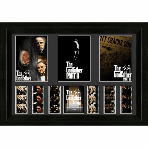 Godfather Trilogy Triple Filmcell - Limited Edition