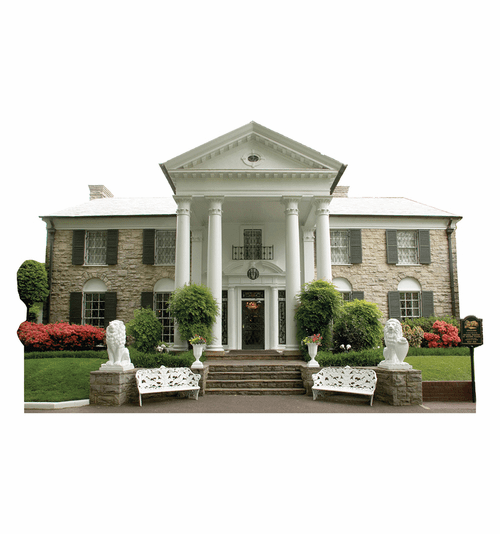 Graceland Mansion Cardboard Cutout
