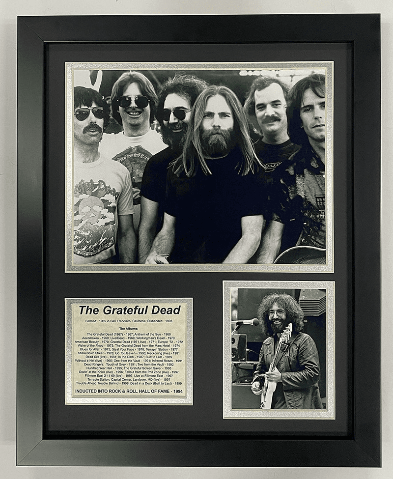 Grateful Dead Collectible Framed Photo Collage