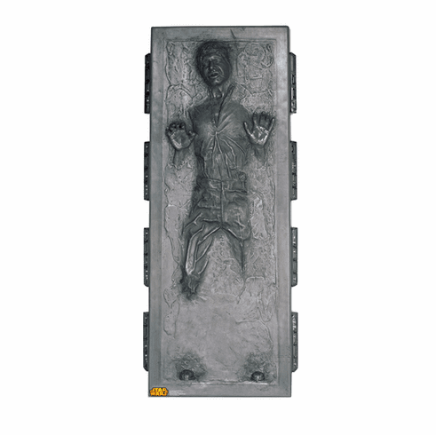 Han Solo in Carbonite Star Wars Standee