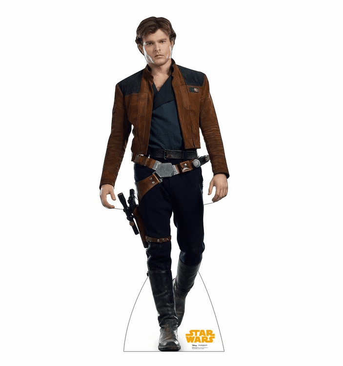 Han Solo Star Wars Han Solo Movie Standee