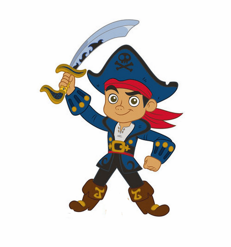Jake & The Neverland Pirates Standees