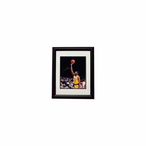 James Worthy Autographed Framed Photofile 8x10 Photo