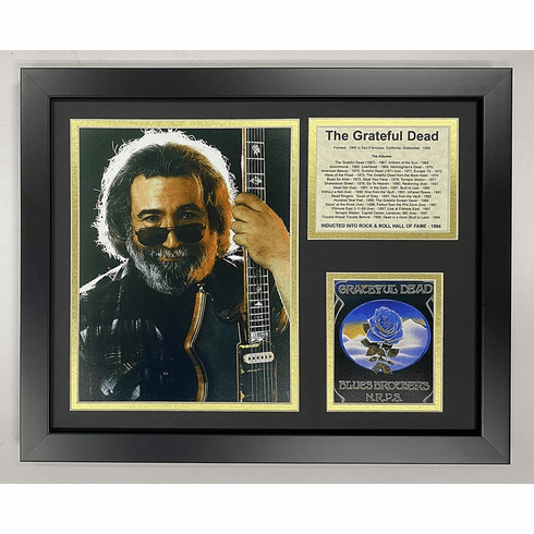 Jerry Garcia The Grateful Dead Collectible Framed Photo Collage