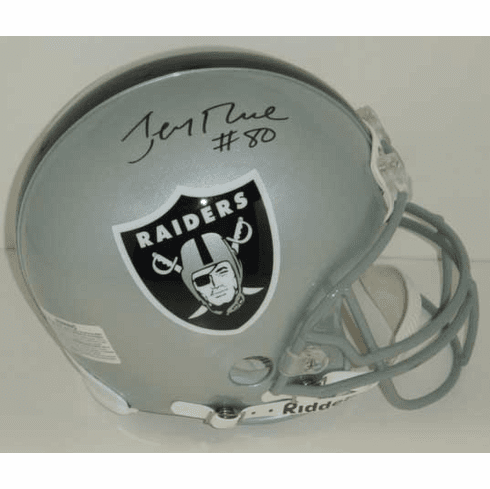 Jerry Rice Oakland Raiders Authentic Autographed NFL Helmet