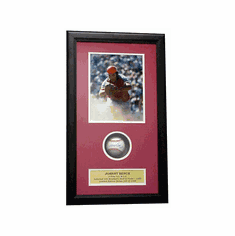 Johnny Bench Autographed Rawlings National League Baseball Shadow Box