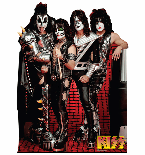 KISS Group Cardboard Cutout