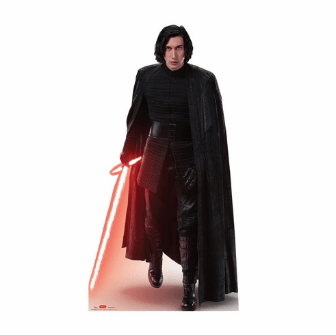 Kylo Ren Action Star Wars VIII The Last Jedi Standee