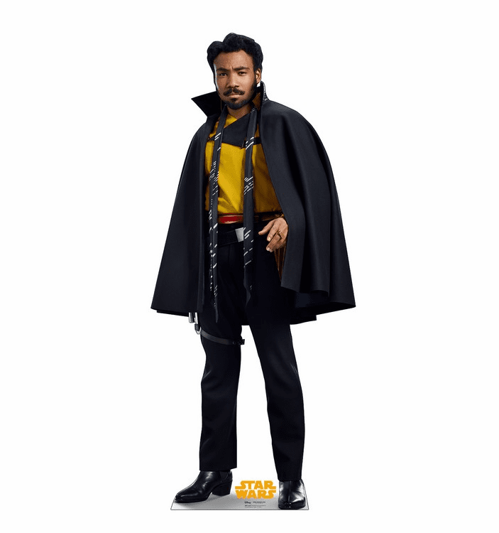 Lando Star Wars Han Solo Movie Standee