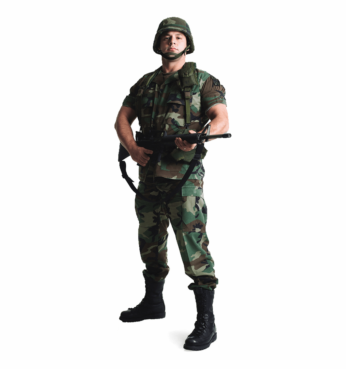 Life Size Army Soldier Standee