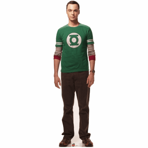 Life Size Big Bang Theory Sheldon Standee
