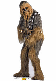 Life Size Chewbacca Standee