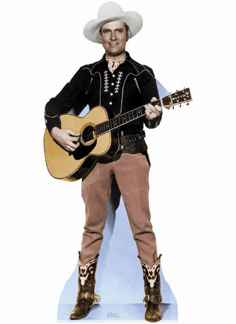 Life Size Gene Autry Standee