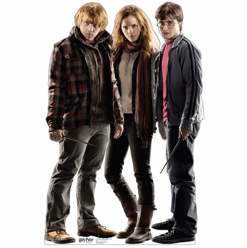 Life Size Harry Potter Group Standee