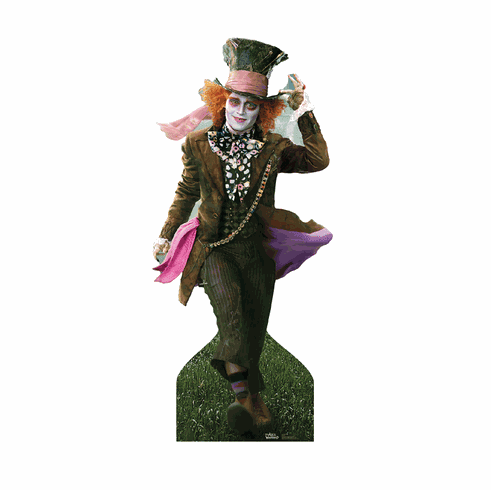 Life Size Mad Hatter Cardboard Cutout