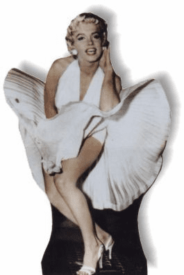 Life Size Marilyn Monroe Standee - Seven Year Itch