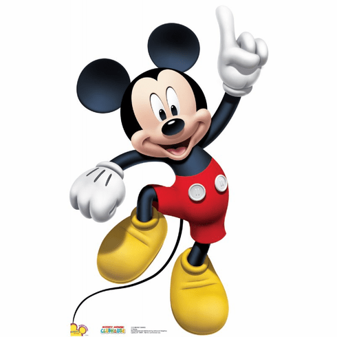 Life Size Mickey Mouse Standee