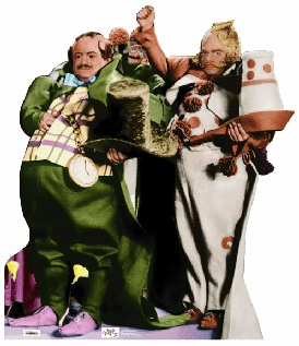 Life Size Munchkins Standee from Wizard of Oz