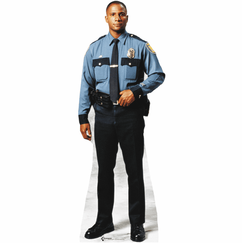 Life Size Policeman Standee