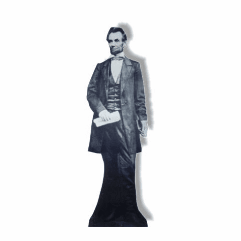 Life Size President Abraham Lincoln Standee