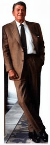 Life Size President Ronald Reagan Standees