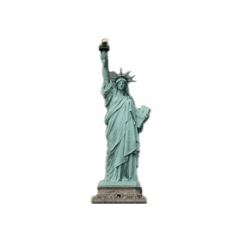 Life Size Statue of Liberty Standee