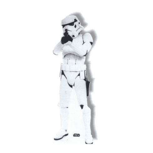 Life Size Storm Trooper Standee