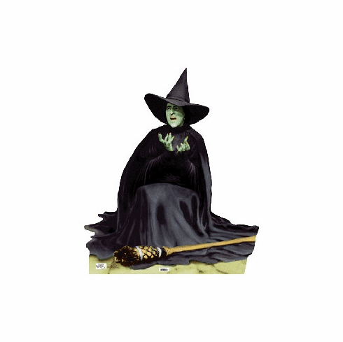 Life Size Wicked Witch Standee from Wizard of Oz - Melting