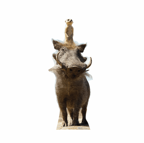 Live Action Lion King Timon and Pumbaa Standee