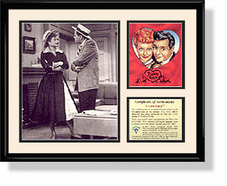Lucy and Ricky Lithograph