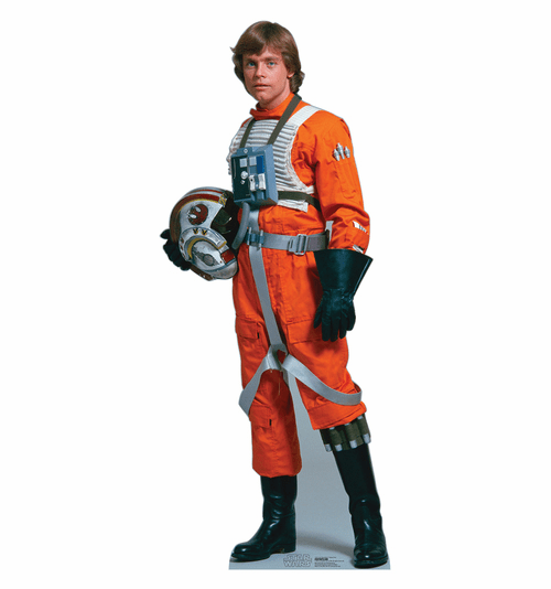 Luke Skywalker Rebel Pilot Star Wars Standee