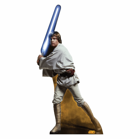 Luke Skywalker Star Wars Classics Retouched Standee