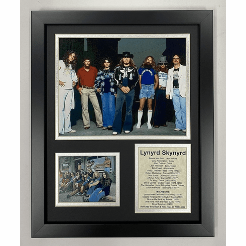 Lynyrd Skynyrd Framed Photo Collage 11 by 14-Inch
