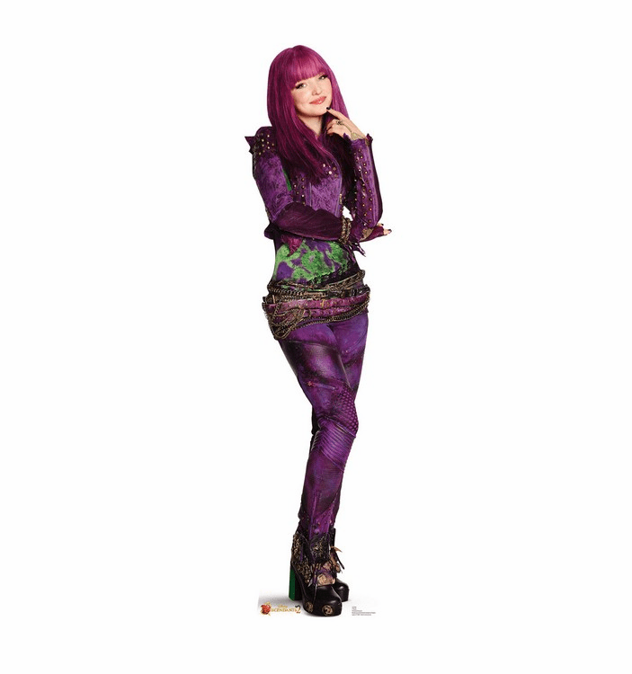 Mal Disney's Descendants 2 Standee