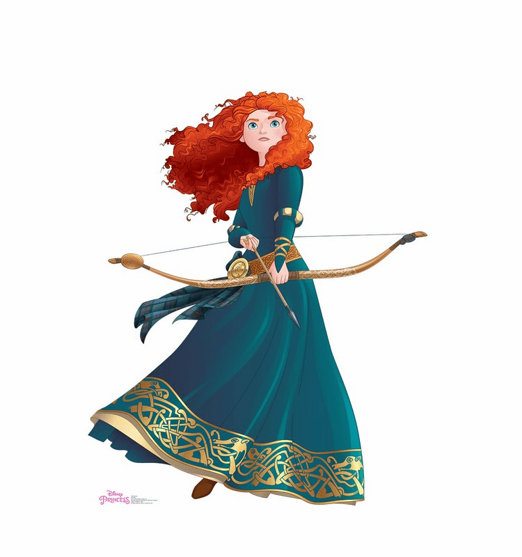Merida Disney Princess Friendship Adventures Standee