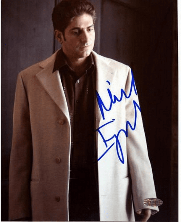 Michael Imperioli Tan Jacket 16X20