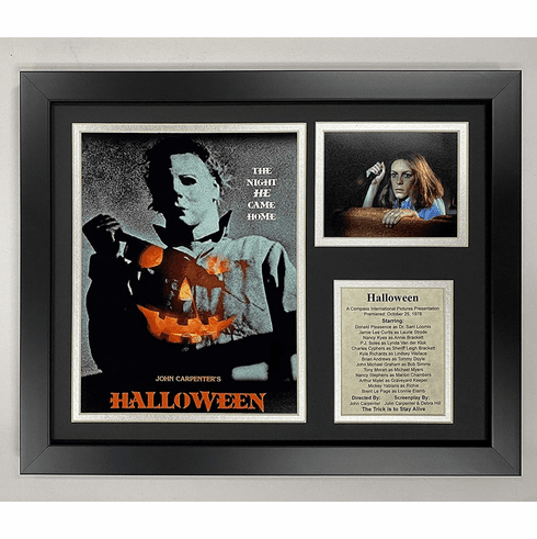Michael Myers Halloween Classic Horror Movie Framed Photo Collage