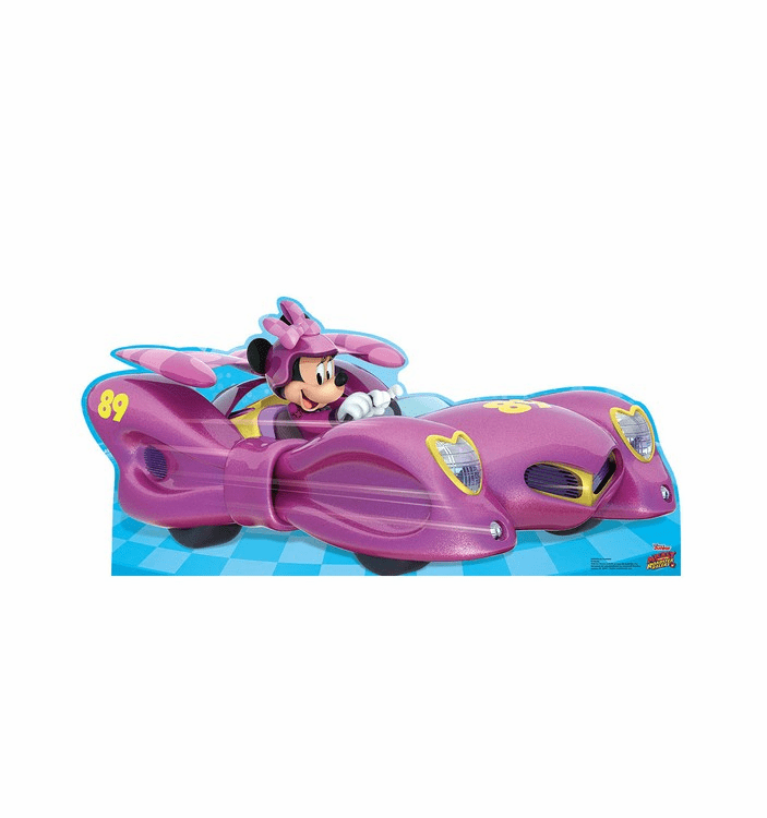 Mickey And The Roadster Racers Standees