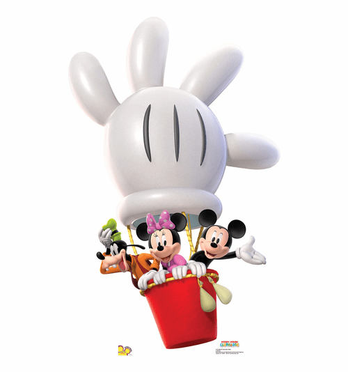 Mickey Balloon Ride Standee
