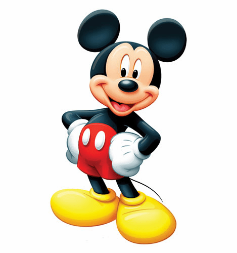 Mickey Mouse Cardboard Cutout
