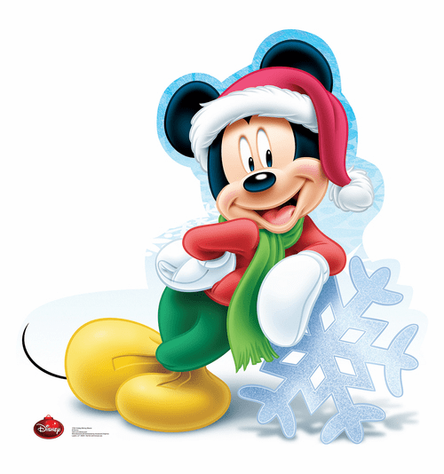 Mickey Mouse Holiday Limited Edition Cardboard Cutout
