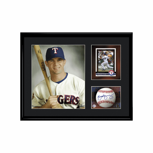 Mike Young Texas Rangers Lithograph