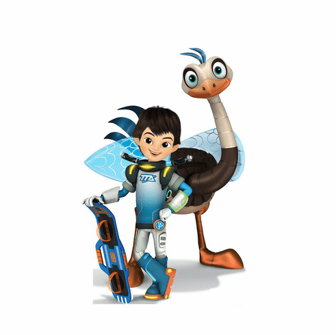 Miles and MERC Disney's Miles from Tomorrowland Cardboard Cutout