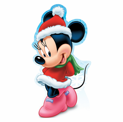 Minnie Mouse Holiday Limited Edition Cardboard Cutout