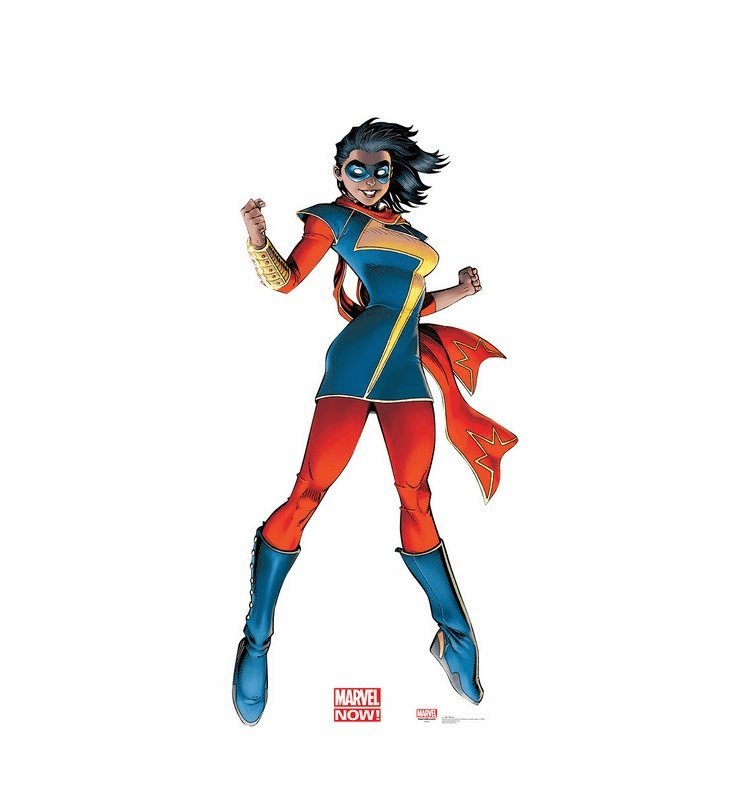 Ms. Marvel Now Standee